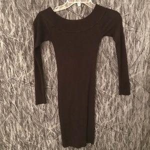Black Dynamite sweater dress